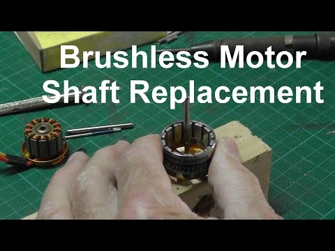 How to Replace a Brushless Motor Shaft - UC9ptcPD2UgMd5x_I8x-dPCg
