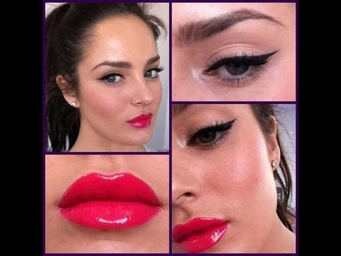 Pinup Makeup with a Modern Twist - UCLFW3EKD2My9swWH4eTLaYw