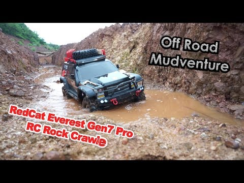 RedCat Racing Everest Gen7 4x4 off road Mudventure - UCsFctXdFnbeoKpLefdEloEQ