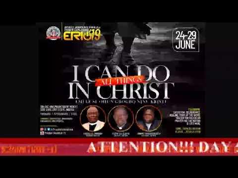 UP NEXT!!! DAY 5 (MORNING SESSION) - Apostle Joseph Ayo Babalola Power Explosion 2019.