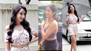 Jhanvi Kapoor at Gym | Nora Fatehi Promoting 'O Saki Saki' Song | Bollywood news latest