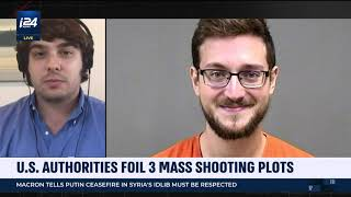 Ford Fischer Discusses Foiled Shooting Plot and Portland Violence on i24