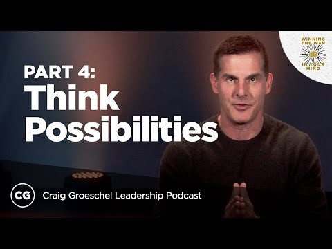 Think Possibilities Not Problems  Master Class