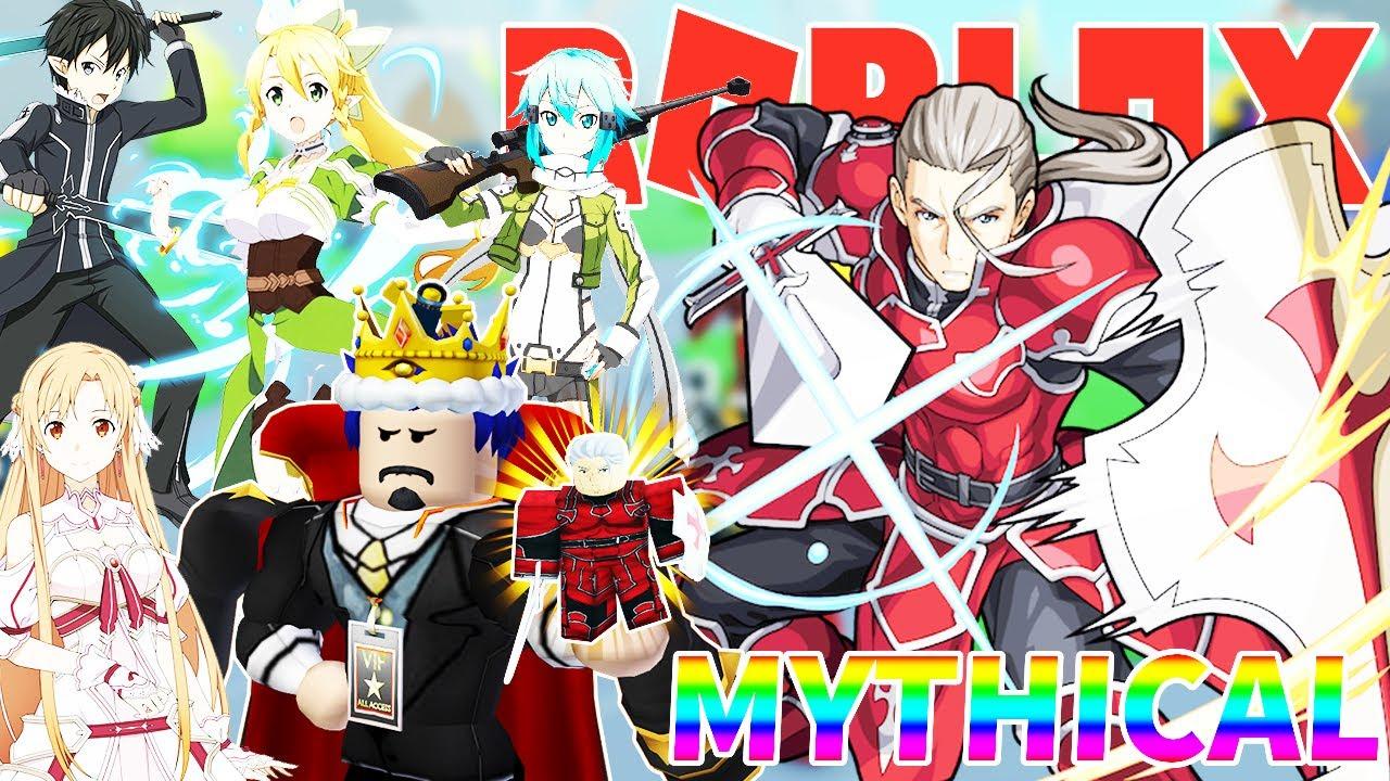 "Roblox- ĐƯỢC 2 NHÂN VẬT THẦN THOẠI MYTHICAL HEATHCLIFF ""KAYABA AKIHIKO"" – Anime Fighters Simulator"