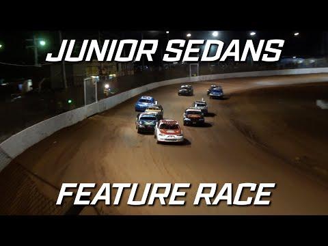 Junior Sedans: Pro1 New Stars Series - A-Main - Maryborough Speedway - 25.09.2021 - dirt track racing video image