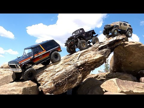 Three Guys Play with RC 4x4 Trucks - FORD, DODGE, TOYOTA  | RC ADVENTURES - UCxcjVHL-2o3D6Q9esu05a1Q