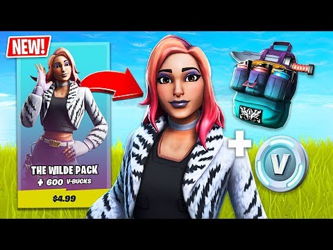 New Wilde Starter Pack Skin! (Fortnite Battle Royale) - UC2wKfjlioOCLP4xQMOWNcgg
