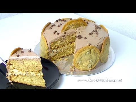 COOKIE DOUGH CAKE *COOK WITH FAIZA* - UCR9WXUxcp0bR9OWi5ersIHw