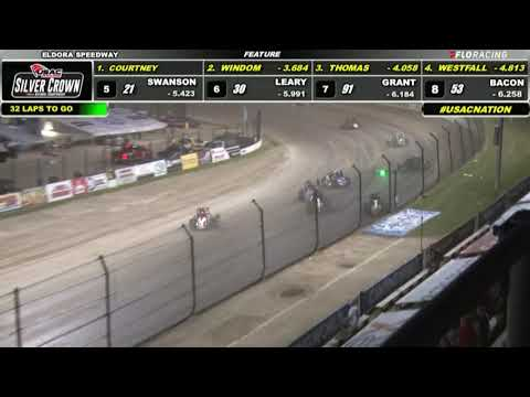 06.26.21 USAC Silver Crown   Feature Highlights - dirt track racing video image