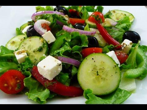 Receta facil Ensalada Griega, riquisima y saludable, tutorial de cocina. - UCb_bRlGpBlwP_u1e8AwQBpQ