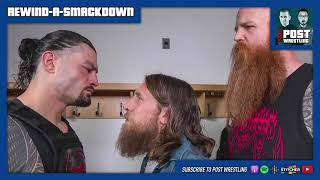 Daniel Bryan knows who attacked Roman Reigns | REWIND-A-SMACKDOWN 8/13/19