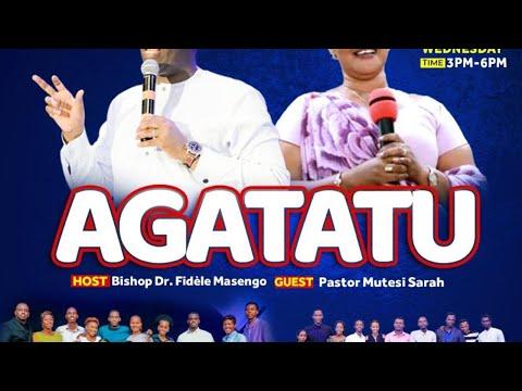 LIVE // AMATERANIRO Y'AGATATU HAMWE NA PASTOR MUTESI SARAH 02.06.2021