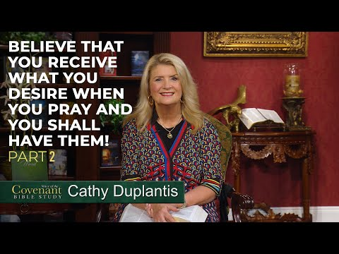 Voice of the Covenant Bible Study, September 2020 Week 2  Cathy Duplantis