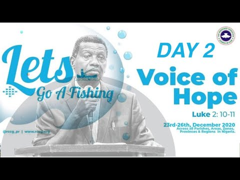 RCCG DECEMBER 28TH 2020  PASTOR E.A ADEBOYE LETS GO A FISHING _DAY 2