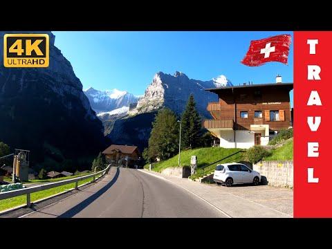 Driving in Switzerland 6: From Grindelwald to Lauterbrunnen   4K 60fps - UC7WZPC7mRWexLM24G3Y3ytg