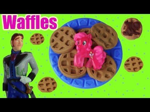 MLP Pinkie Pie Play Doh Waffle Breakfast Truck Disney Frozen Prince Hans Doll Toy Part 2 - UCelMeixAOTs2OQAAi9wU8-g