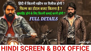Download KGF Full Movie Hindi Dubb Budget & Hindi Screen