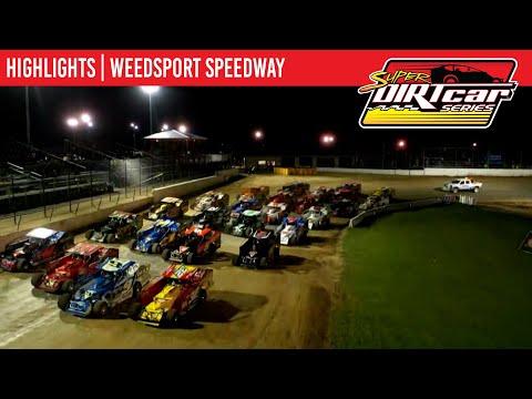Super DIRTcar Series Big Block Modifieds Weedsport Speedway September 11, 2021   HIGHLIGHTS - dirt track racing video image