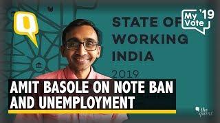 The 50 Lakh Job Loss Report: Amit Basole on Demonetisation & Data