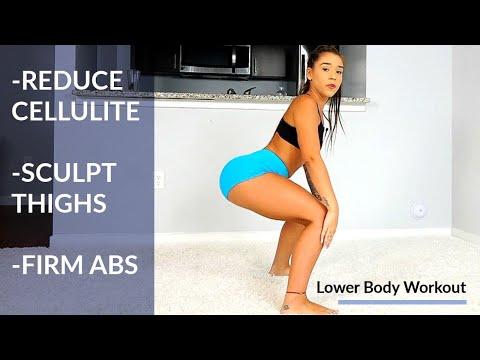 Reduce Cellulite, Sculpt Thighs, Firm Stomach Workout! - UCfzp-VtceORLoJlX32OcbdA