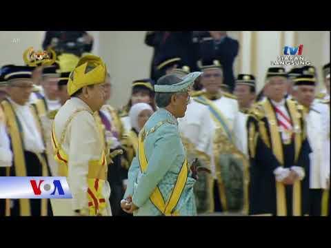 Tân vương Malaysia lên ngôi (VOA)