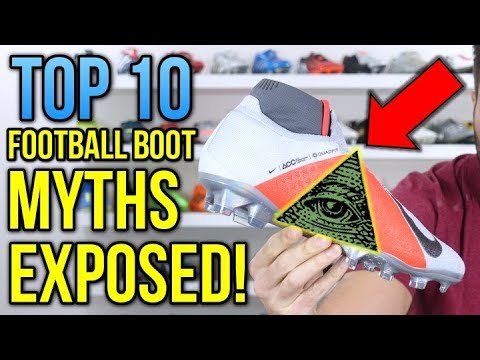 TOP 10 FOOTBALL BOOT MYTHS EXPOSED! - UCUU3lMXc6iDrQw4eZen8COQ