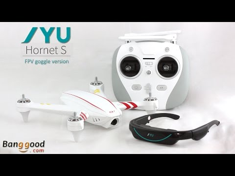 JYU Hornet S - Unboxing (FPV Goggles and Camera Version) - UCPZ_clofCyn-iwgt7Pje-Fg