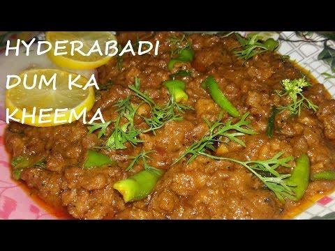 Hyderabadi Dum Ka Kheema Recipe / Delicious Minced meat Hyderabadi Recipe by Cook With Fem