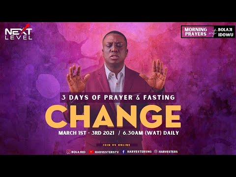 Next Level Prayer   Pst Bolaji Idowu  2nd March 2021