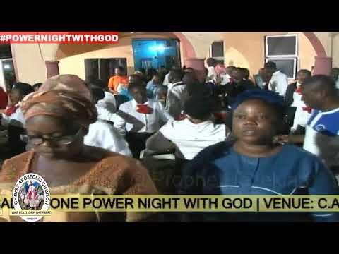 NIGHT VIGIL - (C.A.C WORLD EVANGELISTIC OUTREACH - IJESALAND ONE POWER NIGHT WITH GOD).