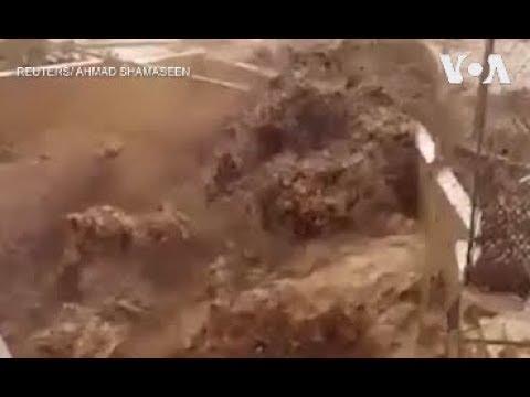 Lũ quét ở Jordan (VOA)