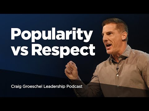 Becoming a Leader People Love to Follow - Craig Groeschel Leadership Podcast