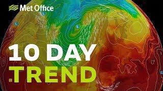 10 Day trend – Summer's last hurrah? 21/08/2019