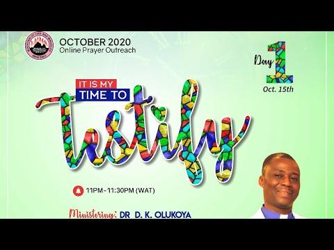 Mid-Month Prayer Rain - Day 1 October 15th 2020