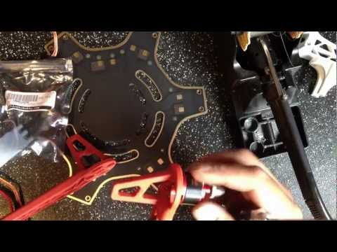 DJI F550 Flamewheel hexacopter build and component placement - UCGnTdEC198UIbD420qBCm6w