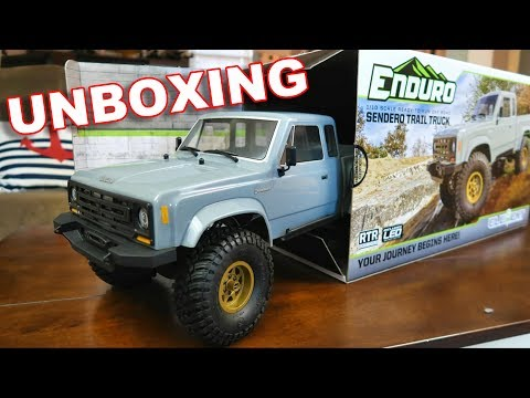 Element RC Enduro Sendero Trail Truck UNBOXING Our Newest 4WD Crawler - TheRcSaylors - UCYWhRC3xtD_acDIZdr53huA