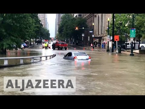 Tropical storm Harvey brings deadly floods to Houston - default