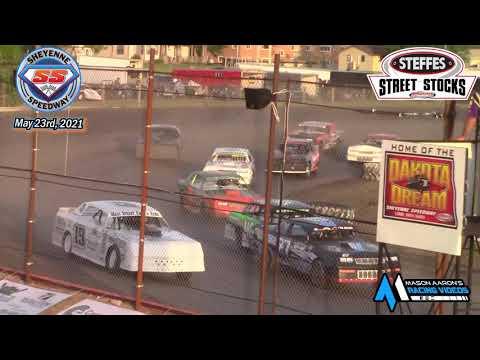 Sheyenne Speedway WISSOTA Street Stock A-Main (5/23/21) - dirt track racing video image