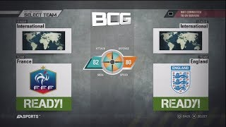 Fifa Street 4 PS3 International Select Team Ratings And Kits