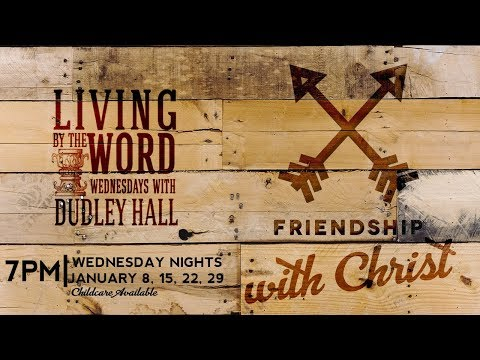 Living By The Word Series Livestream  Dudley Hall  Sojourn Church 1/15/20