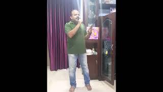 Sankar Ghosh singing song from the film Aandhi - sankar.k.ghosh , Others