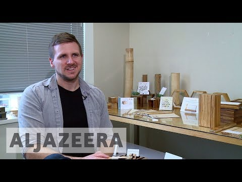 Vancouver PhD student gives used chopsticks new life as furniture