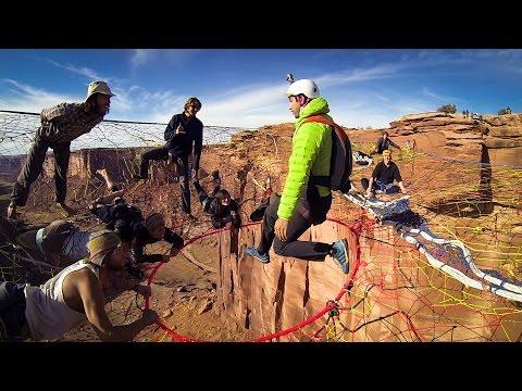 GoPro: Space Net BASE Jump