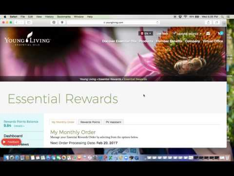 How to Place Young Living ER orders - Canada and NFR (US orders)