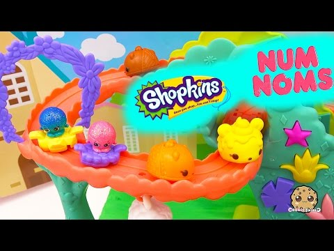 Shopkins Season 4 Meet Num Noms and Ride On Rollercoster - Play Video Cookieswirlc - UCelMeixAOTs2OQAAi9wU8-g