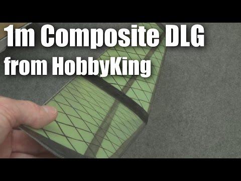 Mini DLG Composite 1000mm from HobbyKing - UCahqHsTaADV8MMmj2D5i1Vw