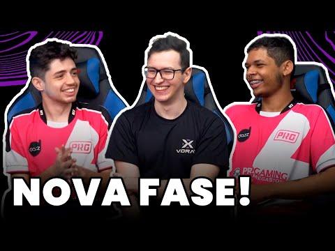 ROTINA DE TREINO E CAMPEONATOS! - Tudo Sobre a Vorax! (feat. Wos, Yampi e FNB)