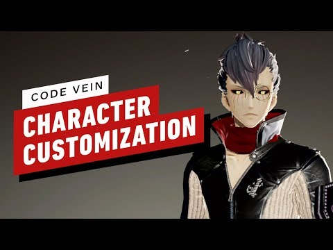 Code Vein - 9 Minutes of Character Customization - UCKy1dAqELo0zrOtPkf0eTMw