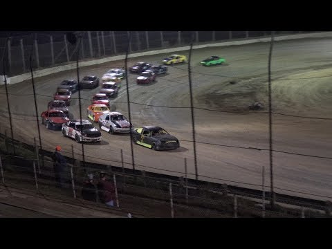 Moler Raceway Park | 10/13/17 | Crazy Compacts | Feature - dirt track racing video image