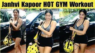 Janhvi Kapoor HOT Gym Workout   Janhvi Kapoor HOT Gym OUTFIT   Jhanvi Kapoor's Hot Look